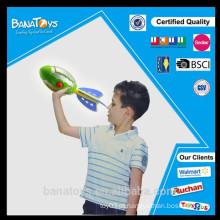Novo produto crianças espuma de brinquedo lançador de foguete