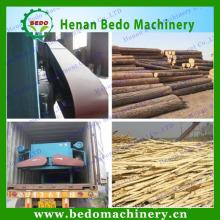 Máquina de descasque de toros de madeira de rolo duplo & log / descascador de madeira
