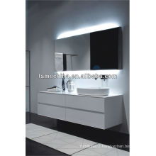 European Style & New Design White Gloss Painting MDF Bathroom Vanity