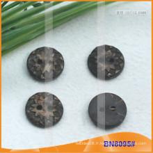 Boutons de noix de coco naturels pour le vêtement BN8095