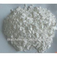Flocon blanc chlorure de calcium 74% min en Chine