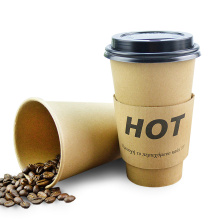 Custom color printing disposable paper cup take away coffee packaging paper cups all sizes wholesale paper cupH
