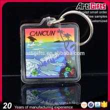 Porte-clés acrylique design personnalisé cadeaux publicitaires