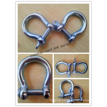 Zinc Plated European Type Bow Shackle