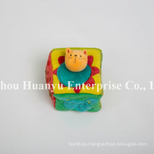 Fuente de la fábrica de nuevo bebé diseñado relleno juguete de peluche de bloques