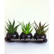 2014 Hot Mini plante artificielle en pot succulente