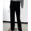 Custom high quality 100% cashmere sweatpants for women