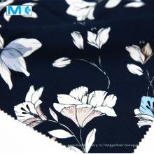 Высококачественная 100% ткань с цветочным принтом