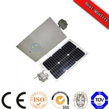 Панель солнечной батареи LED свет все в одном Интегрированный DC 12 в солнечной энергии света