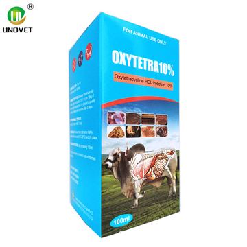 HCL de oxitetraciclina inyectable de 100 ml para veterinarios