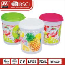 Récipient de nourriture en plastique, Articles ménagers en plastique (3,4 L)