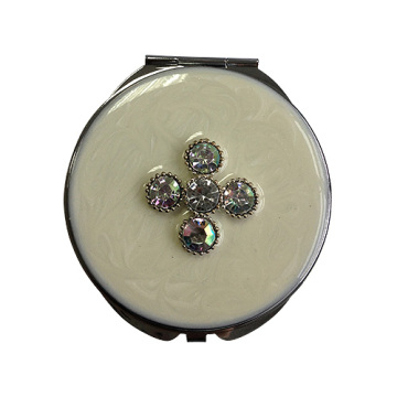 Белый клевер Четырёхлистный карманные зеркала