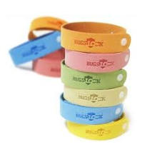 Anti Mosquito Natural Citronella Repellent Fiber Bracelet Bug Away