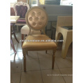 purple aluminium louis chair for sale and rental XY0186