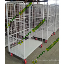 Logistics Hand Trolley/Roll Cage with 4 Wheels