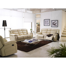 Living Room Sofa with Modern Genuine Leather Sofa Set (924)