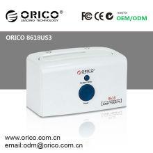 "ORICO 8618US3 1-bay 2.5"" / 3.5"" SATA HDD Docking Station,support 6TB"