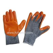 Hppe Handschuhe Nitril beschichtete Anti Cut Handschuhe Sicherheits Arbeitshandschuh