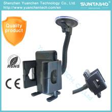 Soporte del sostenedor del soporte del parabrisas de la succión 360 Gire el tenedor del teléfono del coche