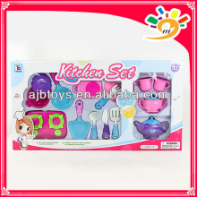 Play plastic kitchen set toys for kids