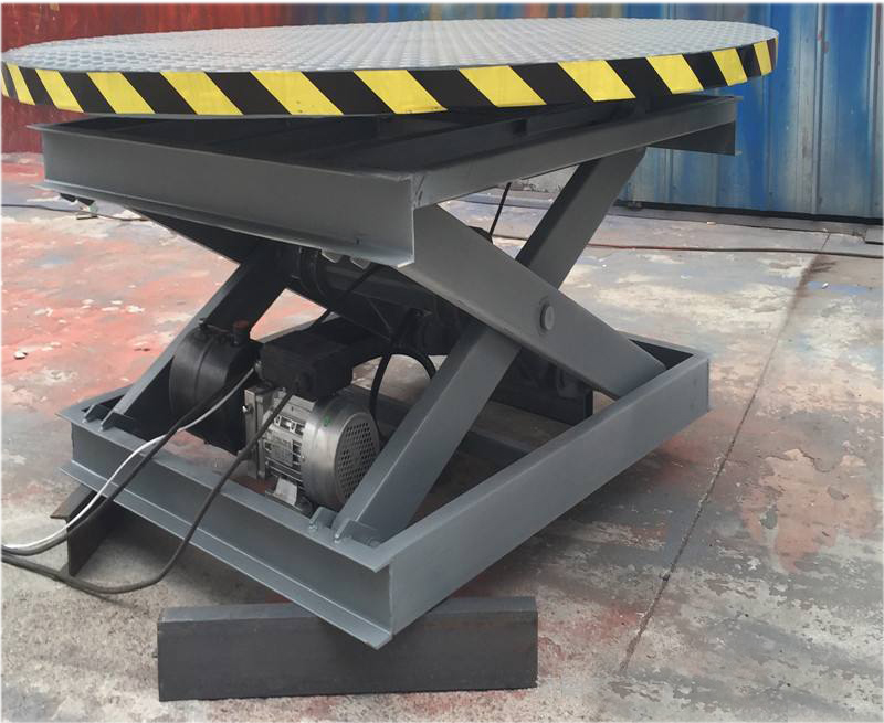 Customized Hydraulic Rotating Lift Table