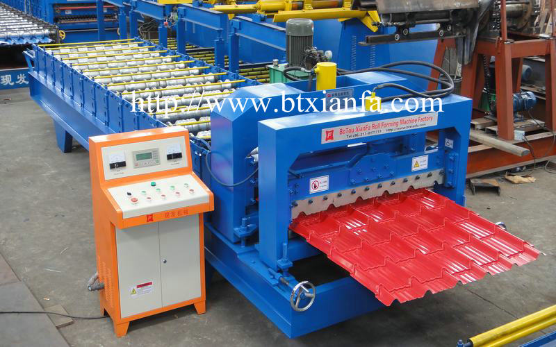 metal sheet roof tile machine 1