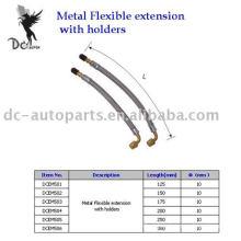 Extensão flexível de metal