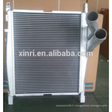 Noyau intercooler turbo en aluminium pour intercooler européen Mercedes-Benz NISSENS: 96970