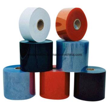 0,08-0,8 mm Transparente Transparente Colorido PVC Película Rígida Período Farmacêutico