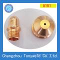 Plasmabrenner Schneiddüse und Elektrode