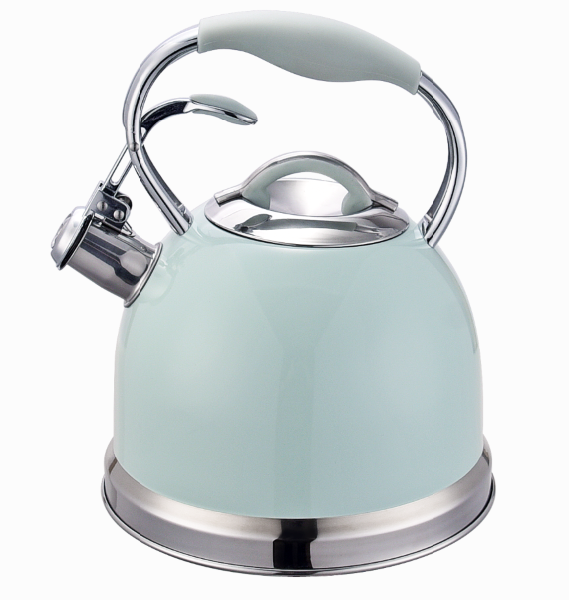 Fh 532 Automatic Whistling Silicon Handle Kettle