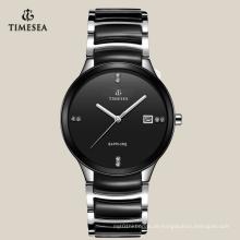 Armband-Uhren 72116 des heißen Verkaufs-schwarze keramische einzigartige Quarz-Männer