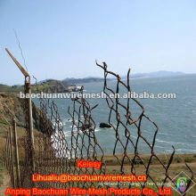 Anti-corrosion used chain link fence mesh for sale