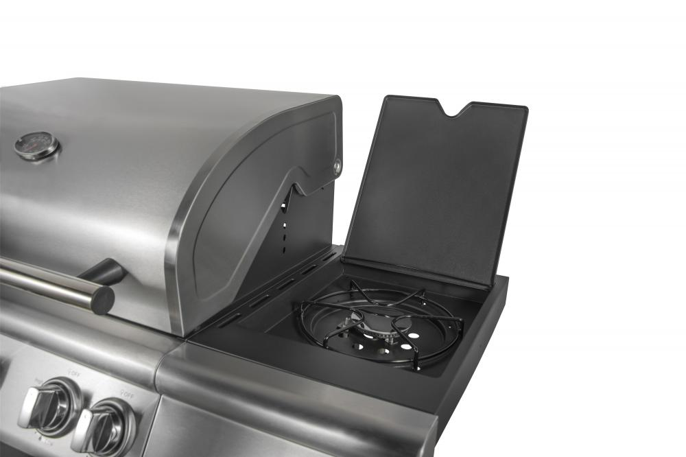 Outdoor Gas BBQ Grill Side Burner