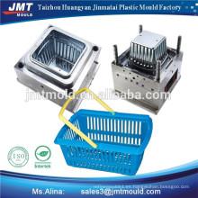 molde de la cesta de almacenamiento de inyección de plástico