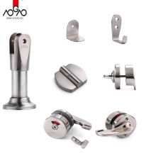 Aogao Factory Cheap Price Stainless Steel Partition Restroom Partition Toilet Hardware