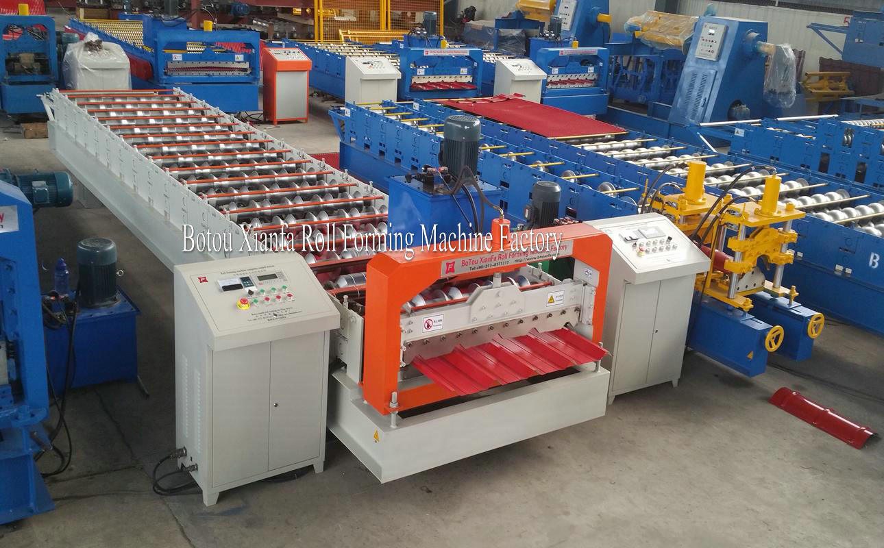 Steel Roof Tile Machinery