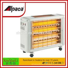 Chauffage électrique à quartz 2800W avec rapport de test BV