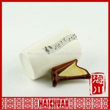Musikalische Becher Keramik für Geschenk
