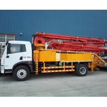 Camión de la bomba concreta del camión de la bomba del cemento de Dongfeng el 32m