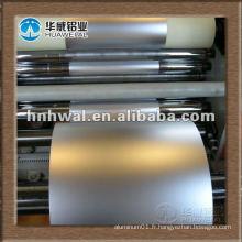 Feuille d'aluminium micron pour emballage souple