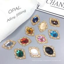 Opal Alloy Vintage DIY Material Custom Rhinestone Rhinestone Sew On Clothes loose diamonds