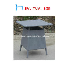 Outdoor Furniture Square Table Synthetic Rattan Table (CF1235T)