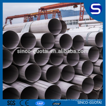 tuyau d'acier allié d'ASTM A213 12cr1movg pour l'industrie de chaudière