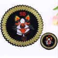 Пользовательский логотип Персонализированная самоклеящаяся нашивка для вышивки собаки