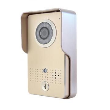 Videoportero de seguridad para el hogar con visión nocturna de 7 pulgadas