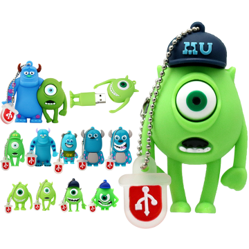 Cute Cartoon Monster University Flash Drive