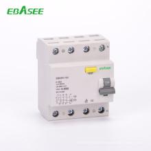 shanghai electrical equipment 60Hz 6kA self reclose rccb