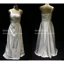 [En Stock] Grecian clásico un hombro vestido de noche vestido de baile con pliegues BYE-14057