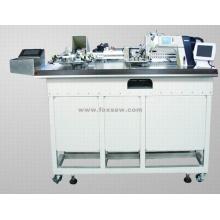 Máquina de costura de fixação automática de bolso sem ferro